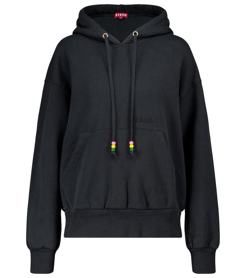 Staud Cotton hoodie in black