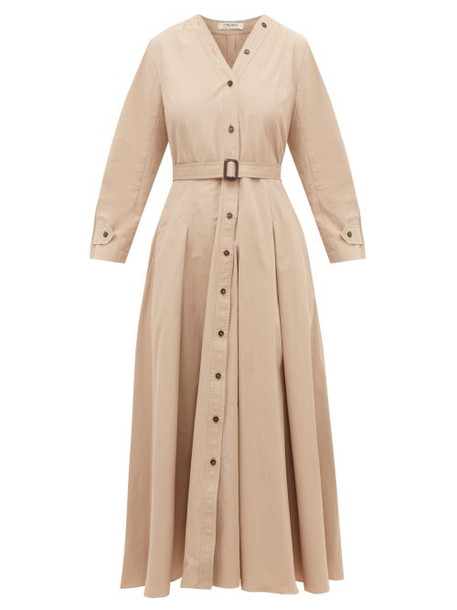 S Max Mara - Panca Dress - Womens - Beige