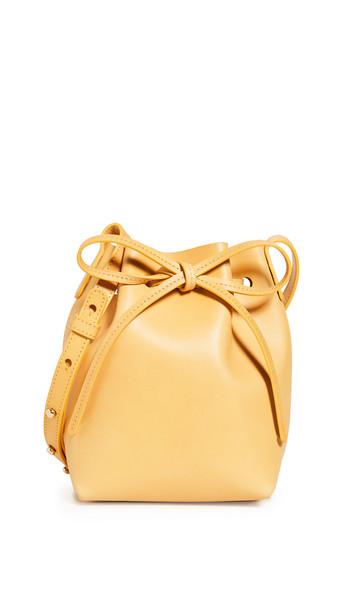 Mansur Gavriel Mini Mini Bucket Bag in yellow