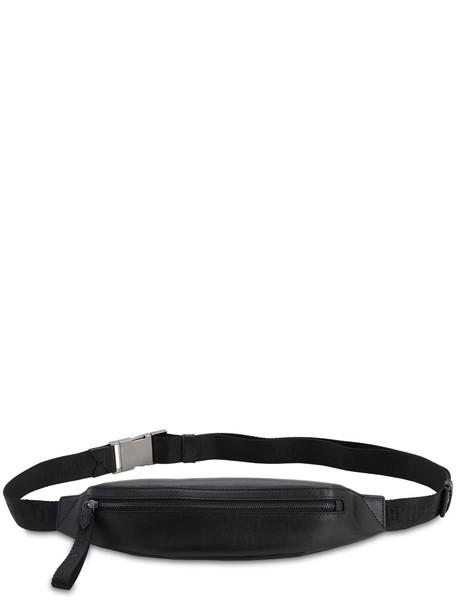 KARL LAGERFELD Karl X Carine Small Leather Belt Bag in black