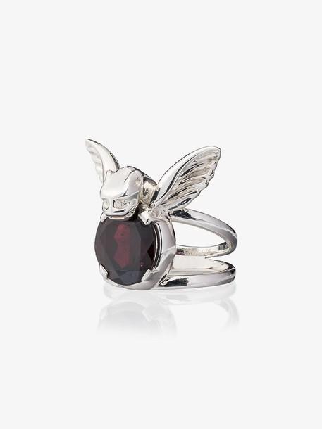 Maria Nilsdotter Silver Gargoyle Ring