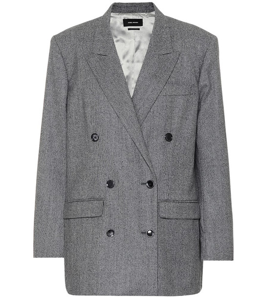 Isabel Marant Wool blazer in grey