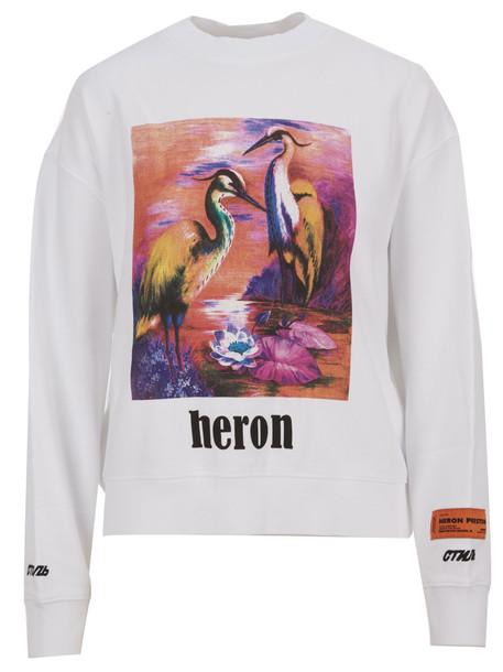 Heron Preston Sweatshirt in white