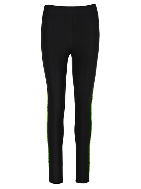 Gcds Leggings Logo Band in black