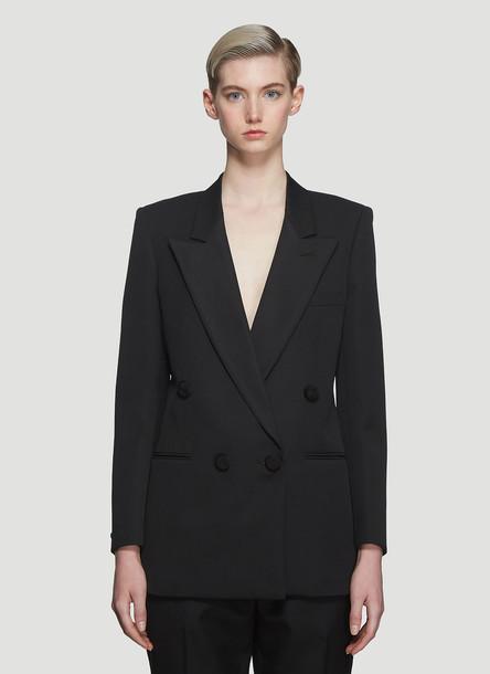 Saint Laurent Tuxedo Passementerie Button Blazer in Black size FR - 34