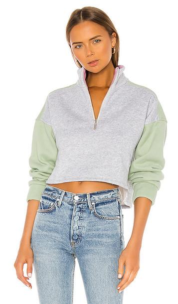 LPA Teagan Sweatshirt in Gray