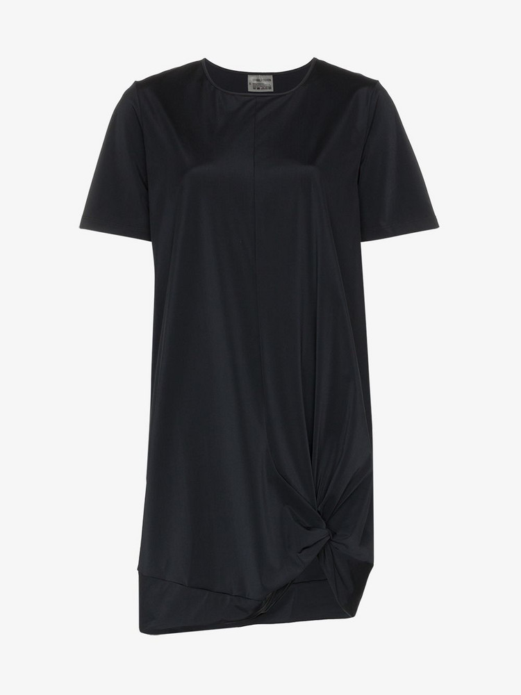 Charli Cohen Cipher longline oversized stretch T-shirt in black