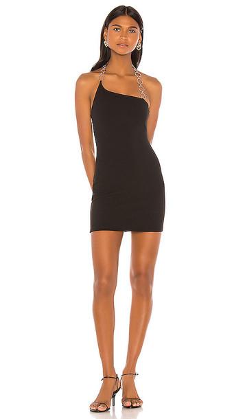 superdown Anabelle Mini Dress in Black