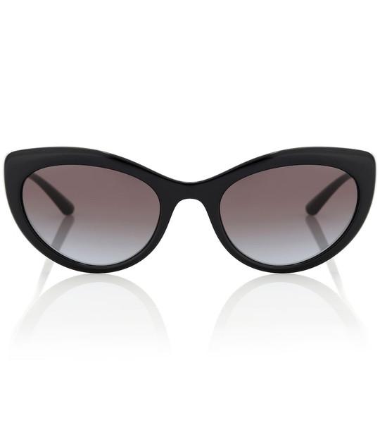 Dolce & Gabbana Cat-eye sunglasses in black