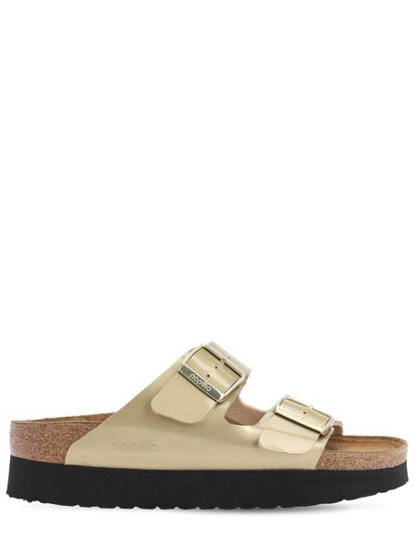 BIRKENSTOCK Papillio Arizona Platform Sandals in gold
