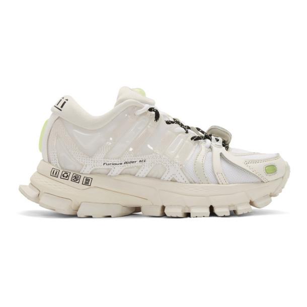 Li-Ning White Furious Rider Ace 1.5 Sneakers