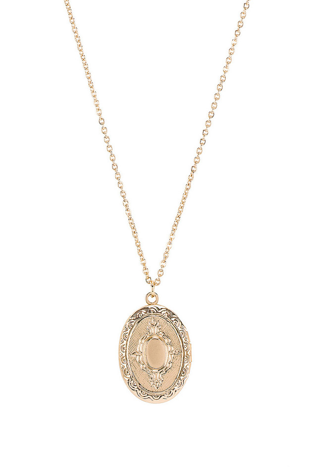 8 Other Reasons Mystic Pendant in gold / metallic