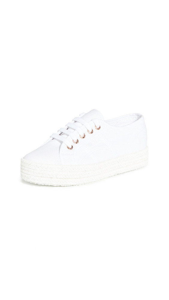 Superga 2730 Cotropew Sneakers in rose / white