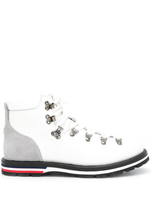 Moncler Blanche hiking boots in white