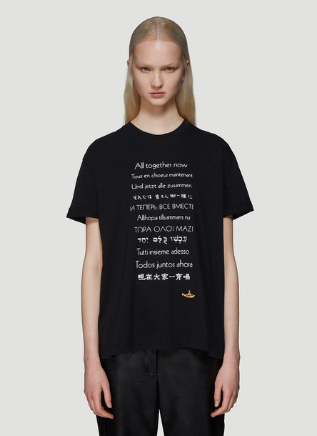 Stella McCartney The Beatles All Together Now T-Shirt in Black size IT - 40