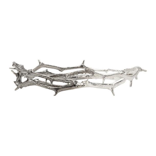 Pearls Before Swine Silver Thorn Bracelet