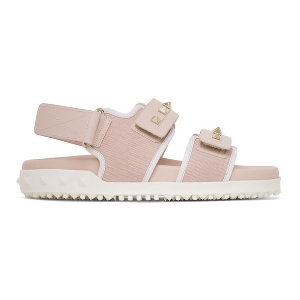 Valentino Pink Valentino Garavani Rockstud Sandals