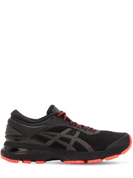 ASICS Gel Kayano 25 Lite Show Sneakers in black / red