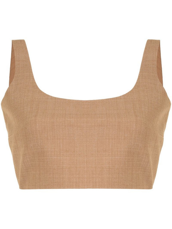 Anna Quan Addy top in brown