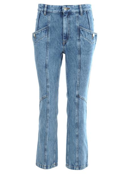 Isabel Marant Étoile Im Etoile Notty Jeans in blue