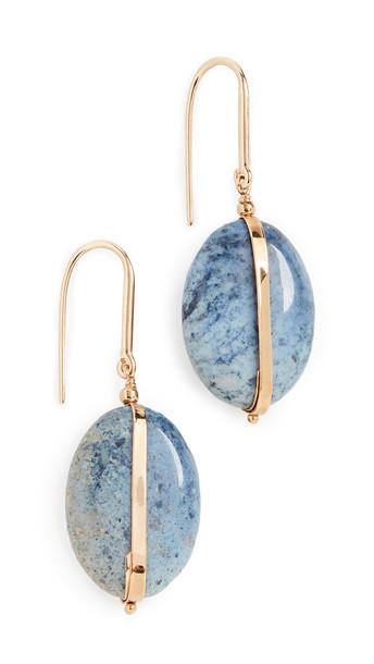 Isabel Marant Stones Earrings in stone / blue