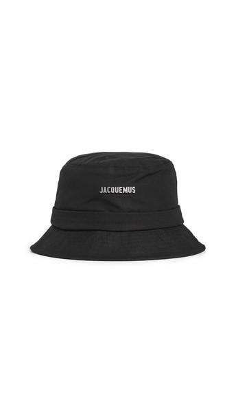 Jacquemus Le Bob Gadjo Hat in black