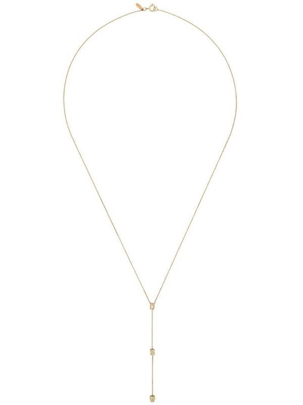 Xiao Wang 14kt gold Stardust diamond necklace