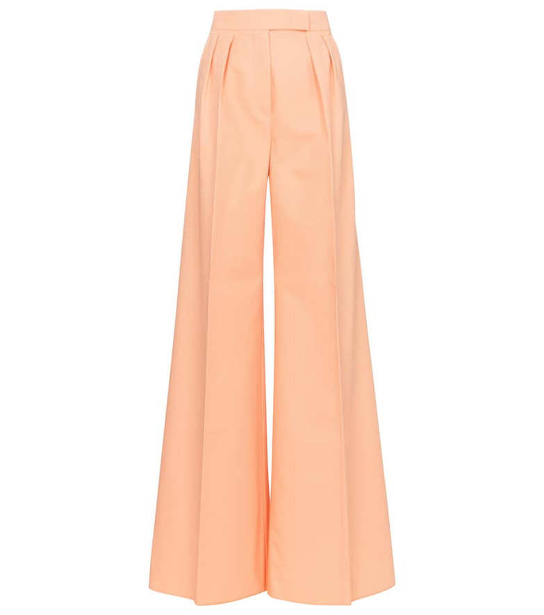 Max Mara Sabbia cotton gabardine pants in beige