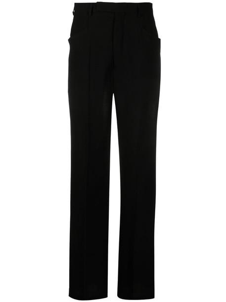 Rick Owens Walrus virgin wool-blend trousers in black