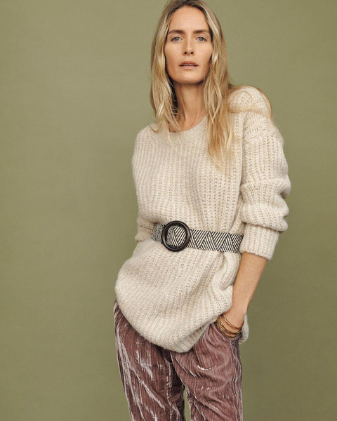 belt pants sweater