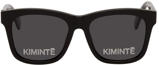 KIMHĒKIM Black Two Logo Sunglasses