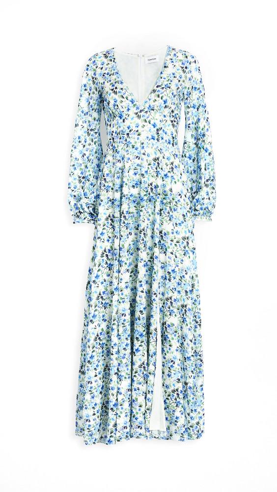 Yumi Kim Melissa Maxi Dress in blue