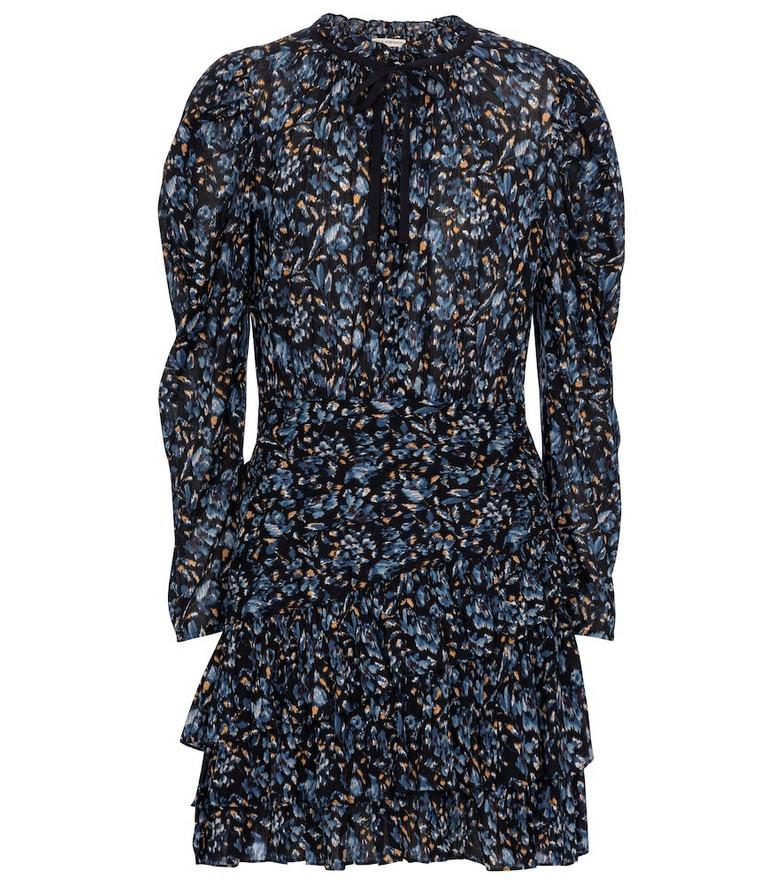 Ulla Johnson Marielle floral minidress in blue