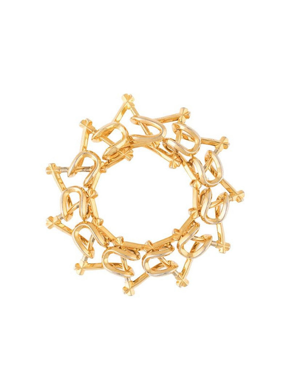THIRD CROWN 18kt gold-plated Marcy bracelet