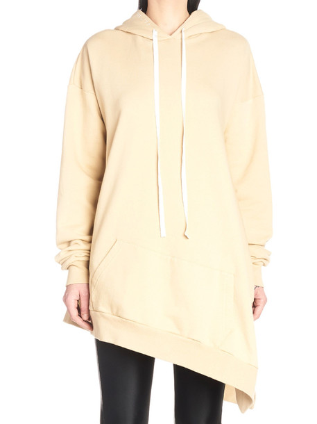 Ben Taverniti Unravel Project Hoodie in beige / beige