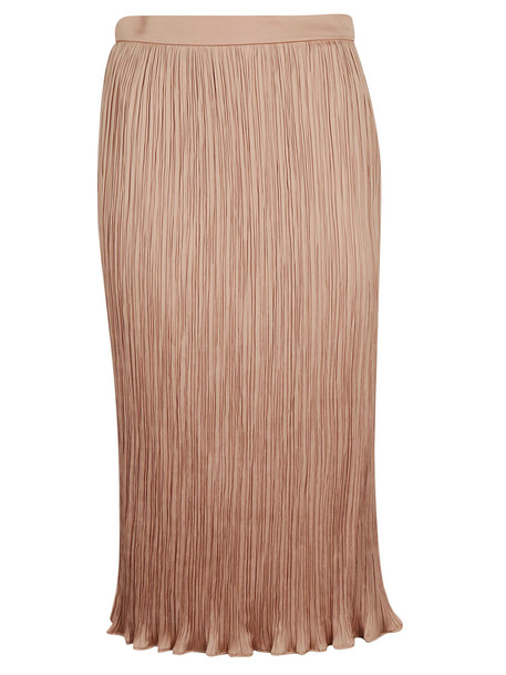 Max Mara Fitted Midi Skirt in brown