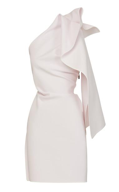 Maticevski For Keeps Crepe De Chine Dress in pink