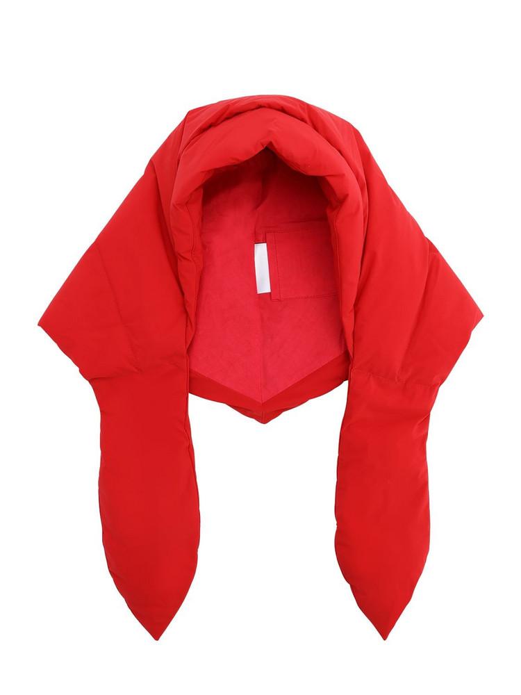 IENKI IENKI Hustka Hood Down Hat in red