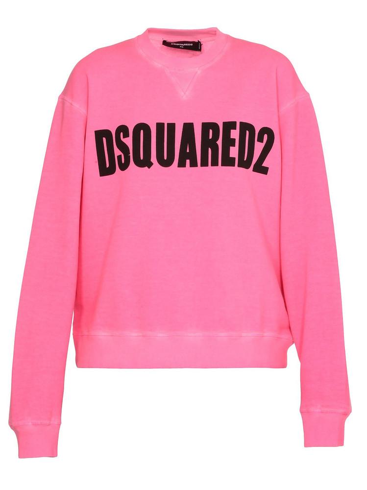 Dsquared2 Fluo Sweatshirt in pink
