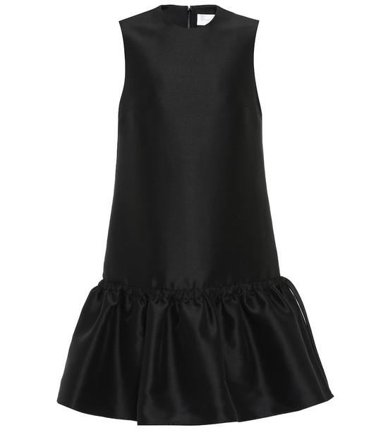 Victoria Victoria Beckham Twill minidress in black