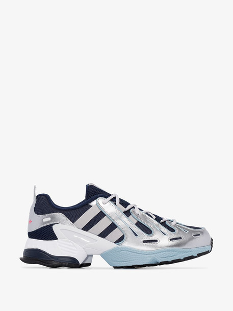 adidas blue and grey EQT Gazelle low top sneakers
