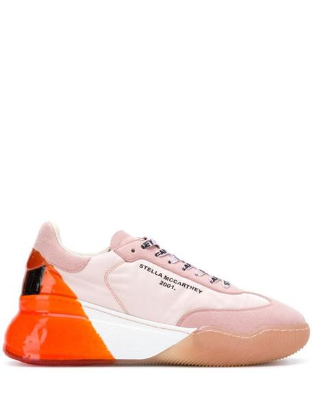 Stella McCartney Loop lace-up sneakers in pink