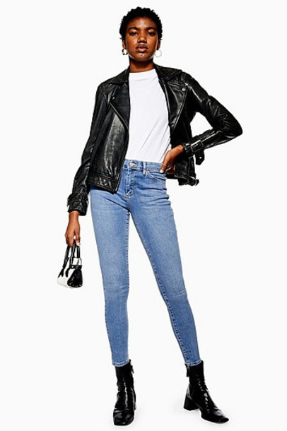 TopShop Authentic Sidney Jeans - Mid Stone