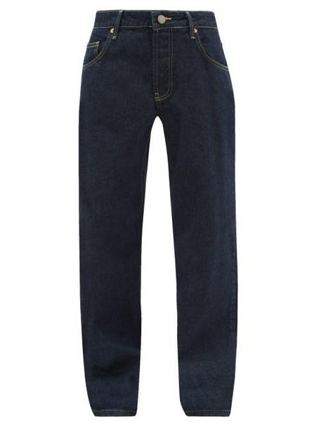 Raey - Opa Baggy Boyfriend Jeans - Womens - Indigo