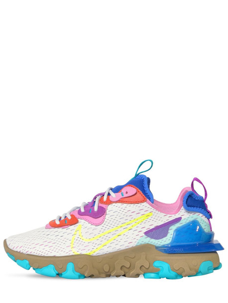 NIKE Nsw React Vision Sneakers in blue / violet