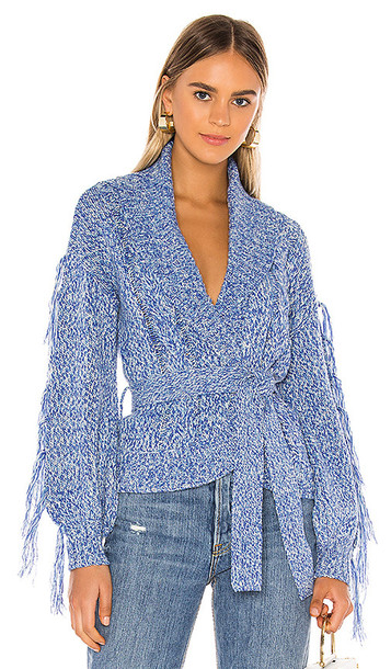 Tularosa Shane Cardigan in Blue
