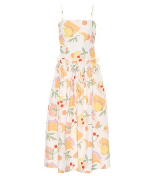 Rejina Pyo Leah printed cotton-blend dress