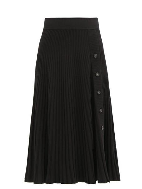 Sportmax - Carta Skirt - Womens - Black