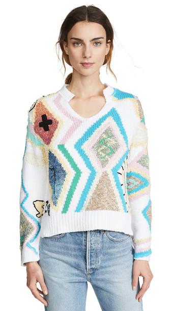 Zadig & Voltaire Sonny Kilim Sweater in multi