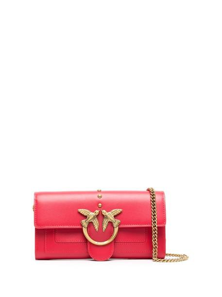 Pinko Love Wallet mini bag in red